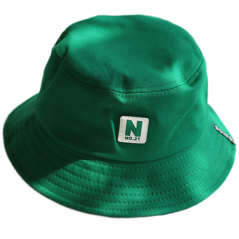 f853f00a41f 2018 green Bucket Hat Fisherman Hats Men Women Outer Summer Street Hip Hop  Dancer Cotton Panama City Hat-in Bucket Hats from Apparel Accessories on ...
