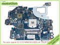Q5wv1 la-7912p rev 2.0 placa base del ordenador portátil placa madre para acer aspire v3-571 nbm7d11001 nb. m7d11.001 hd4000 + geforce gt710m