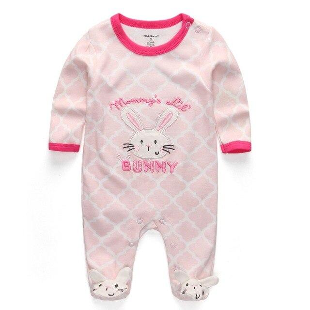 בגדי 2018 ניו תינוקת בגדי יילוד תינוק כותנה בנות romper ארוך שרוול תינוק מוצר, תינוק rompers