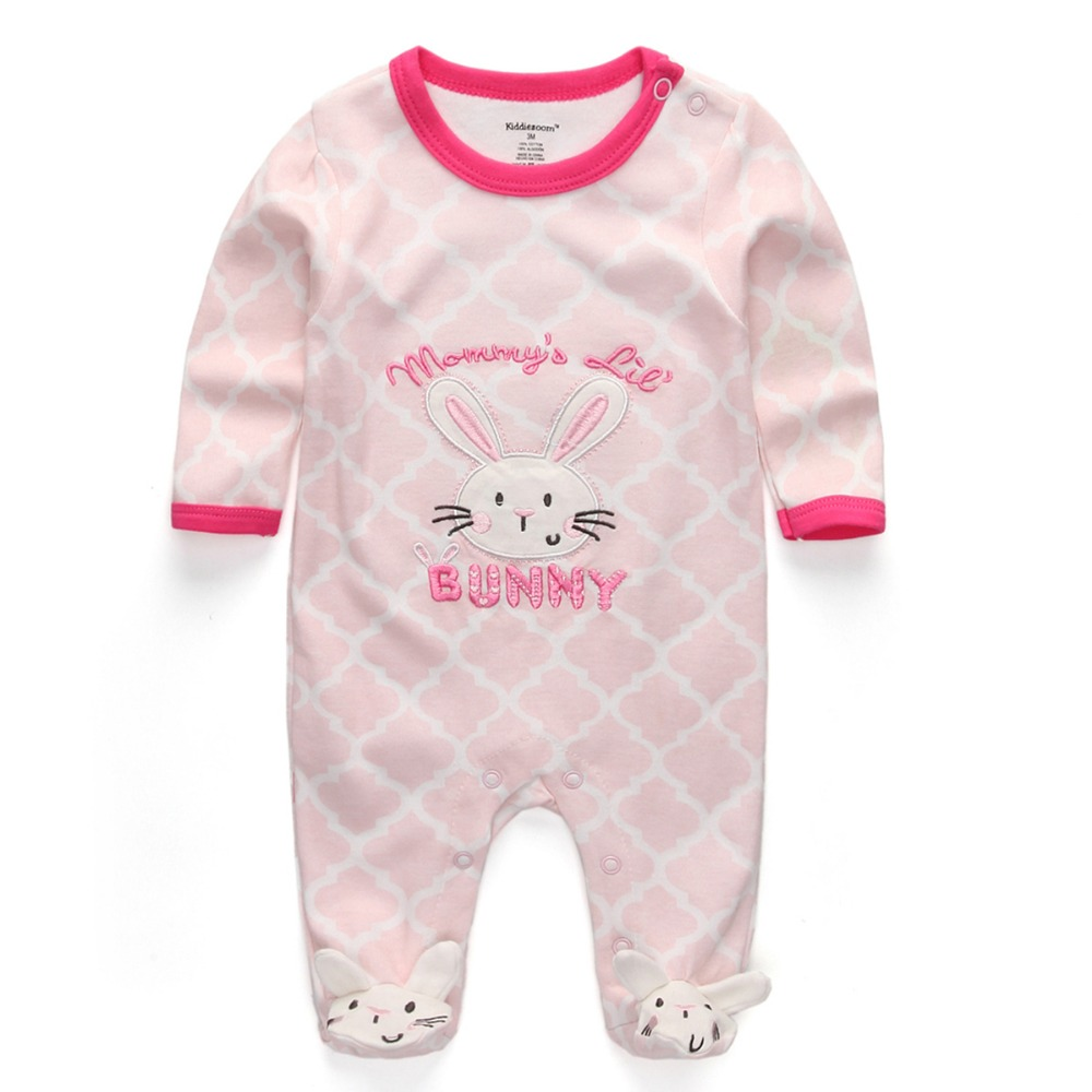 f570c15108f6 Baby Girl Summer Clothes 2018 New Newborn toddler romper baby cotton ...