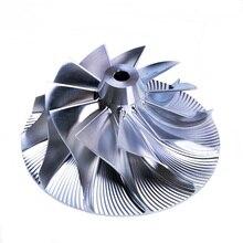 """גלגל מדחס טורבו בילט Kinugawa 61.33/82 מ""""מ 11 + 0 עבור GT35R GT3582R גארט 451644 5"""