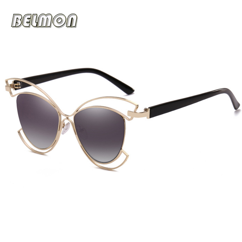 Belmon Fashion Butterfly Sunglasses Women Brand Designer Sun Glasses For Ladies Oculos Colorful Lens Female Sunglass RS680 in Women 39 s Sunglasses from Apparel Accessories