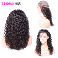 Sunnymay Brazilian Virgin Hair Water Wave Full Lace Human Hair Wigs Natural Hairline Lace Front Human Hair wigs With Baby Hair