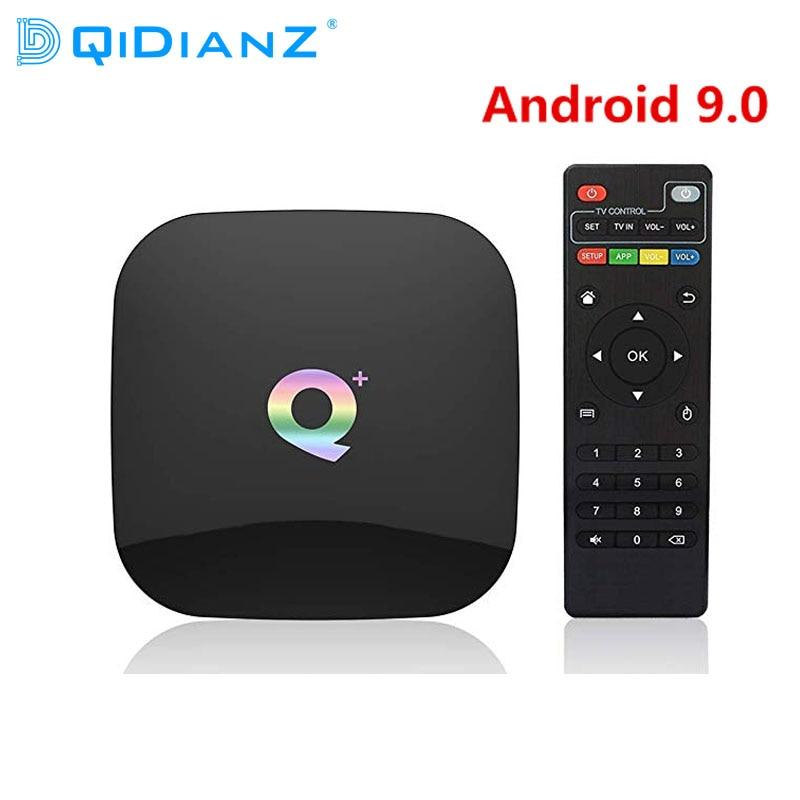 DQiDianZ Q PLUS Android 9 0 Smart TV Box 4GB RAM 32GB 64GB ROM Wifi 2