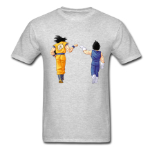 Dragon Ball Z Men's T Shirt DBZ Dragonball Z Goku Vegeta Saiyan Fashion Design Mens Womens Boys Basic Top Tee T-shirts Plus Size