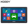 XGODY 715 7 inch GPS Navigation Capacitive Screen Car Truck 128M 8GB FM Navigator 2016 Europe Russia Maps with FREE Sunshade