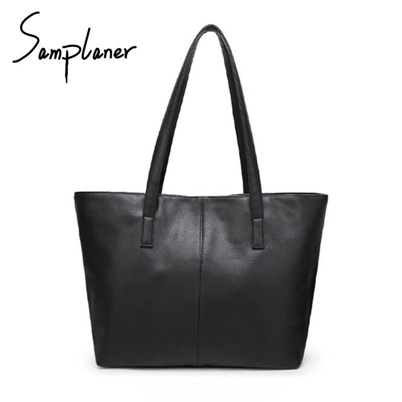 Promotion Casual Soft Women Shopping Bag Light PU Leather Women's Handbags Zipper Ladies Shoulder Bags Large Female Tote Bags