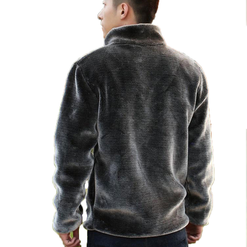 Aliexpress.com : Buy Mens Winter Leather Jacket Zipper Cardigan ...