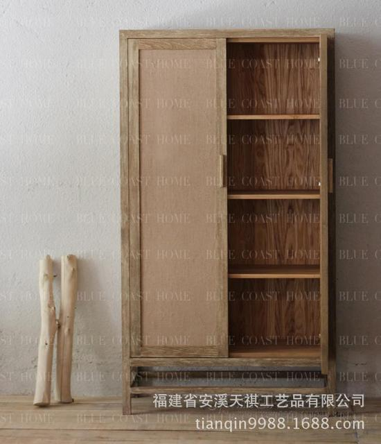 American Country To Do The Old Retro Couture Eco Old Pine Wood Furniture,  Linen