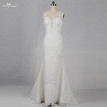 yiaibridal RSW1201 Sexy Backless Mermaid Wedding Dress