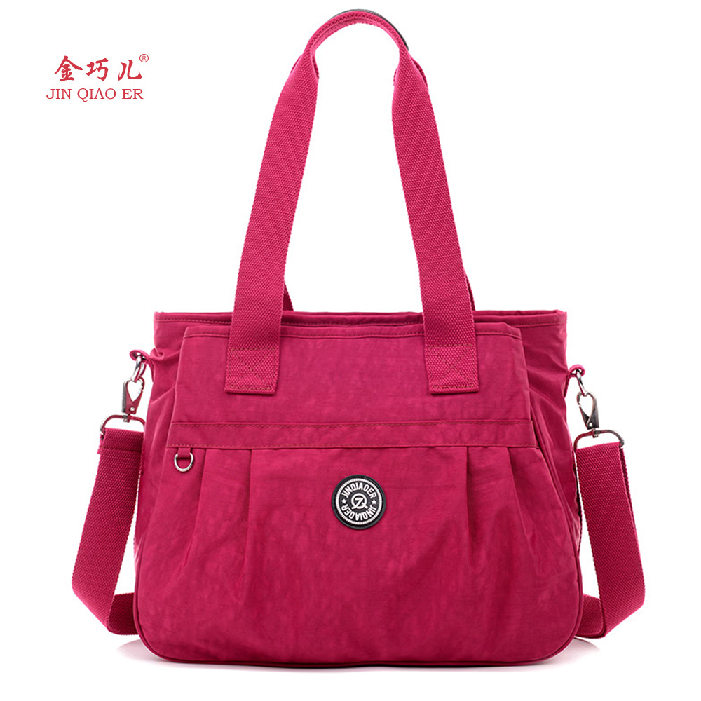 JINQIAOER Women Messenger Bag Ladies Crossbody Bags For Women Waterproof handbags Nylon Large Shoulder Bags Style Bolsa Feminina jinqiaoer woman nylon bag women messenger bags for women handbags shoulder bag large capacity stroller bag bolsa feminina wh392