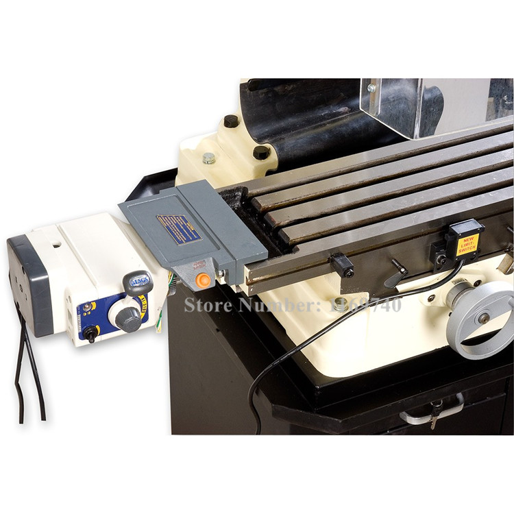 ALSGS ALB-310 200RPM 450in-lb110V 220V Horizontal Power Feed Auto Power Table Feed For Milling Machine X Axis Power Feeder