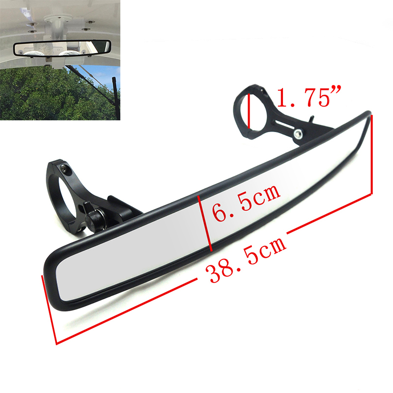 "KEMiMOTO Wide Rearview Mirror 1.75 ""Polaris RZR800 1000 XP900 1000 S 용 클램프 경주 용 미러, John Deere Gator 용 Yamaha Rhino 용"