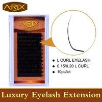 L Curl Eyelash Extension 10pcs L Lash New L Curl Mink False Eyelashes Fake Eyelashes Korea Lash Very Soft Hair