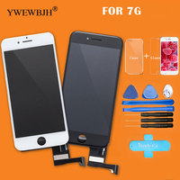 YWEWBJH Parts 1 PCS Grade AAA Touch Screen For Iphone 7 LCD Digitizer Assembly With 3D