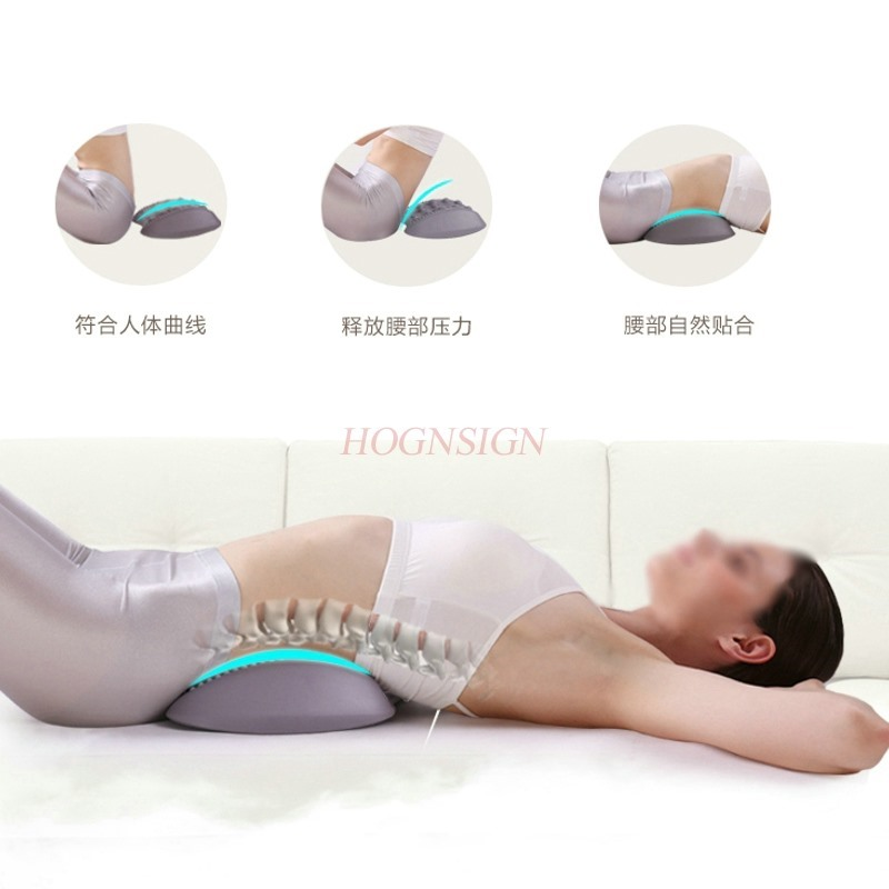 Waist Care Tool Vertebra Correction Belt Highlights Lumbar Disc Pad Waists Back Pain Traction Massager Therapy Joint Hot Sale