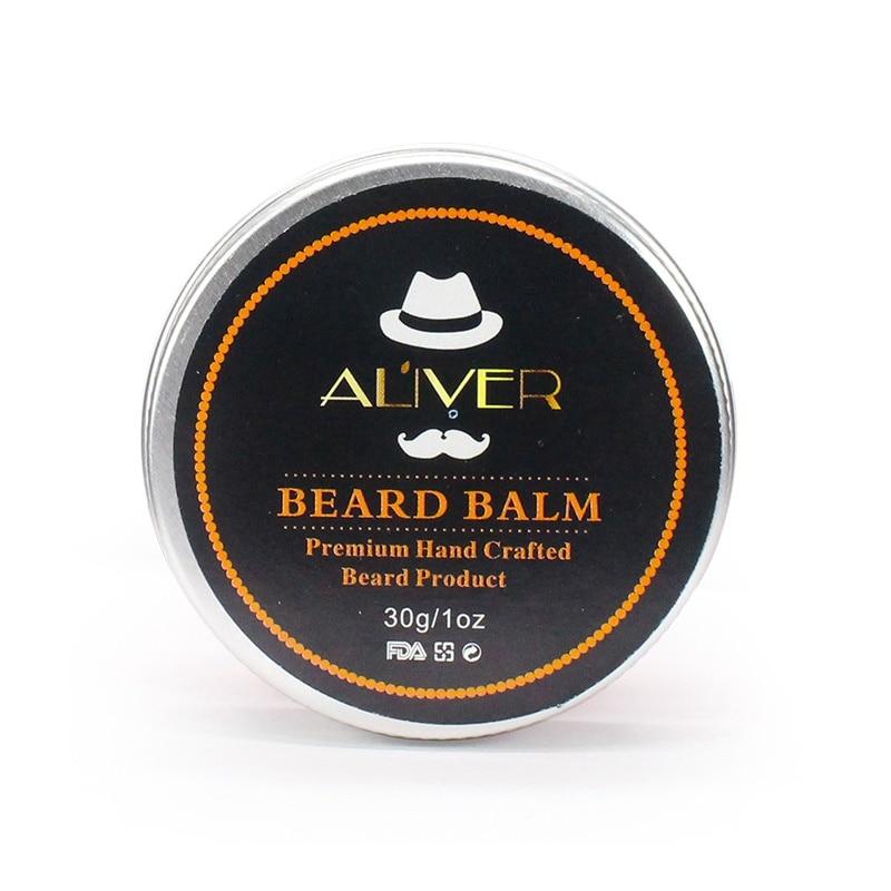 Men Beard Balm and Beard Growth with Argan Oil Wax  3