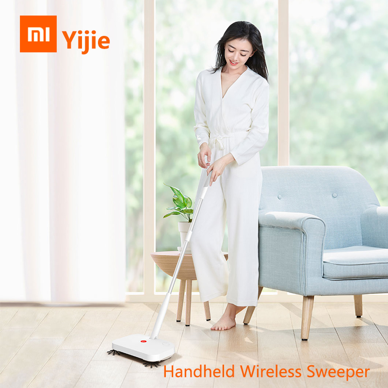 Original Xiaomi Yijie Wireless Handheld Sweeper Ye 01 Smart Intelligent Sweeping Machine Light Thin Floor Cleaner
