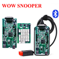 (3Pcs/Lot) New V5.008 R2 WoW Snooper With Keygen Bluetooth OBD2 Diagnostic Tool Better Than TCS CDP Pro by DHL Free Shipping