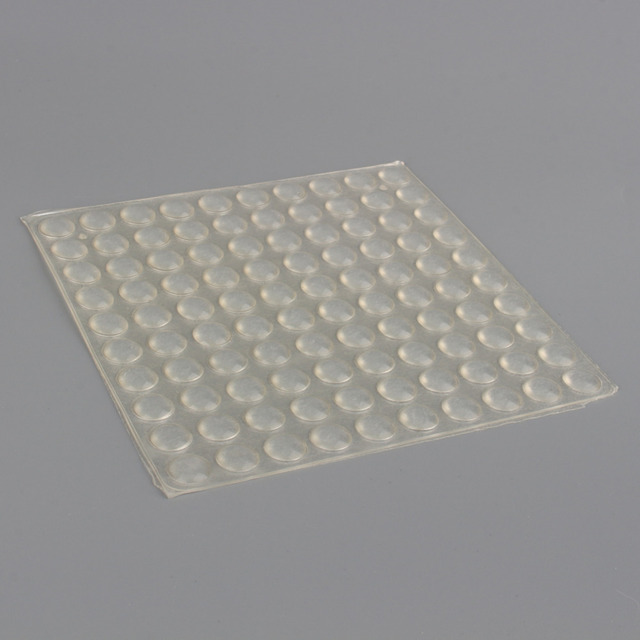 Merveilleux 100pcs/set Silicone Pad Self Adhesive Feet Bumpers Clear Semicircle Bumpers  Door Cabinet Drawers Buffer