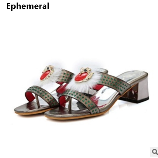 7dec524fea27c New Arrivals designers luxury fashion Slides Women High heels Shoes Open  Toe Mixed colors Sandals Slippers 45 3 Red White Shoes