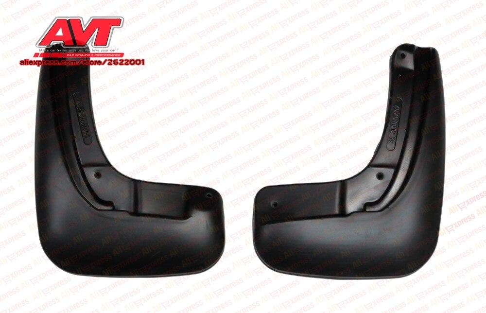 Mudguard for Skoda Rapid 2014- 1 2 pcs/set ( 2 pcs rear ) protection mud car accessories car styling