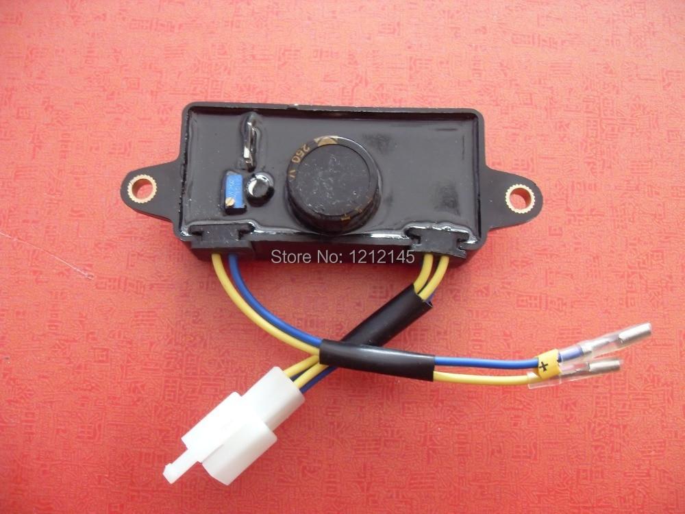 2KW 2.5KW AVR For GX160 168F HONDA 170F EC2500 Generator виброплита vektor vpg 70c gx160 2002
