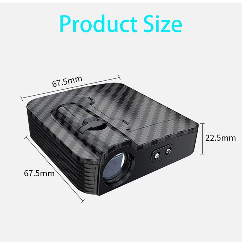 1pcs New car door wireless welcome lamp universal projection lamp wireless spotlight infrared sensor light for car All model (11)