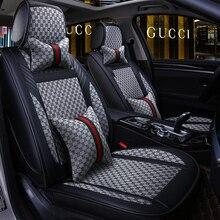 Dingdian 5 Seats Car Seat Cover Fit Volkswagen POLO SANTANA Gran Lavida CROSS