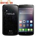 """16 ГБ Версия!! 100% Оригинал LG Nexus 4 E960 Мобильный телефон Quad Core 1.5 ГГц 4.7 """"Емкостный Экран Бесплатная Доставка"""