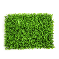 High Quality Artificial Lawn Plastic Green Grass Landscape Square Turf Plant Leaf Lawns Supermarket Shop Wall