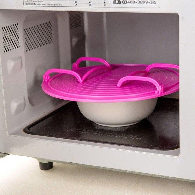 Buzdolabı mikrodalga fırın raf çift yalıtımlı ısıtma tepsi raf kaseler katmanlı tutucu mutfak bulaşık organizatör depolama raf