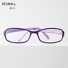 KESMALL 2017 New Prescription Glasses Women Square Shaped Computer Eyewear Frames With Myopia Lens Gafas De Lectura XN481P