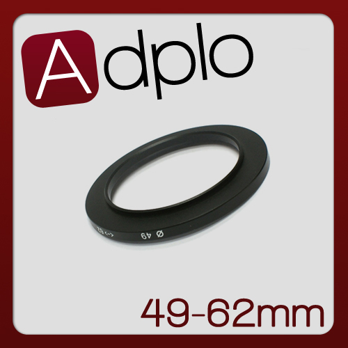 49-62 MM 49MM to 62MM Step Up Ring Filter Adapter