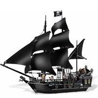 The Black Pearl Ship 804Pcs Bricks Set Sale Pirates Of The Caribbean Building Blocks Toys For