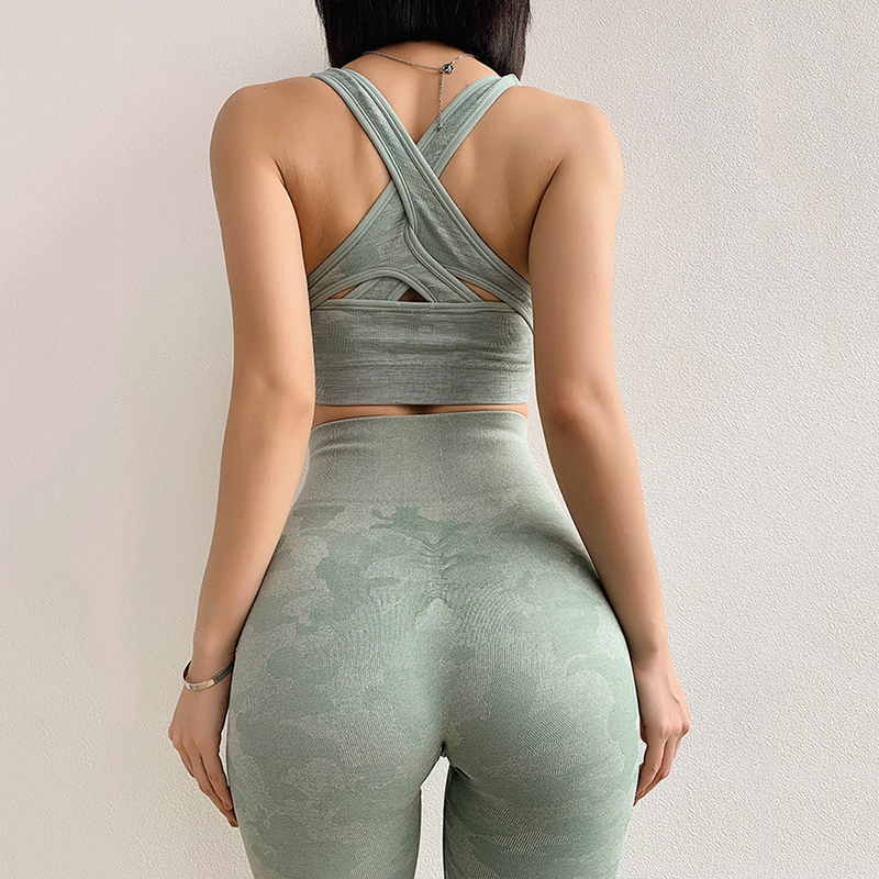 Camo Seamless Leggings High Waist Yoga Pants Workout Gym Leggings Energy Yoga Legging Butt Scrunch Tights Vital Sport Leggings in Yoga Pants from Sports Entertainment