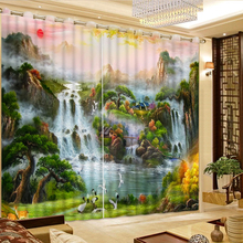 3d Curtains Fairy tale world Living Room Window Modern blackout curtains for the bedroom High-precision Shade 2017 New CL-DLM718