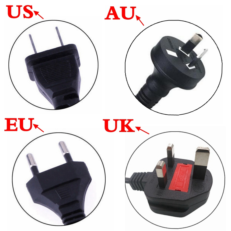 lowest price 42V 2A Universal Battery Charger 100-240VAC Power Supply for Self Balancing Scooter hoverboard charger UK EU US AU Plug