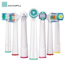 4 piezas Oral B cepillo de dientes eléctrico de los jefes de reemplazo para  Braun nuevo Universal cabeza de cepillo de dientes E.. af9958899d8b
