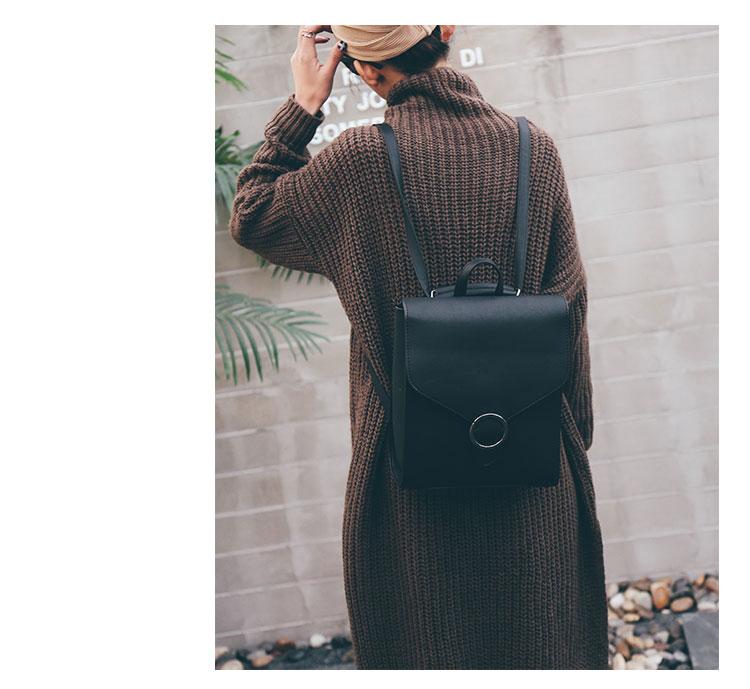 Retro Women's Rucksack Bag 30