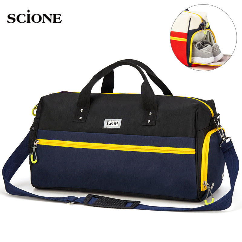 Dry Wet Fitness Gym Bags Swimming Handbags for Shoes Waterproof Bag Travel Training Basketball Sports Sac De Sport Women XA566WADry Wet Fitness Gym Bags Swimming Handbags for Shoes Waterproof Bag Travel Training Basketball Sports Sac De Sport Women XA566WA
