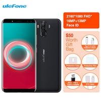 Ulefone Power 3S Smartphone Facial ID 6 0 18 9 FHD 6350mAh 4GB RAM 64GB 16M