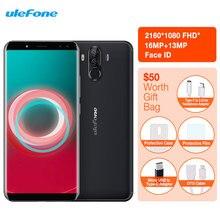 "Ulefone Power 3 s Smartphone identificación Facial 6,0 ""18:9 FHD 6350 mAh 4 GB RAM 64 GB 16 M + 13MP Android 7,1 Octa Core + 4 cámaras 4G teléfono celular"