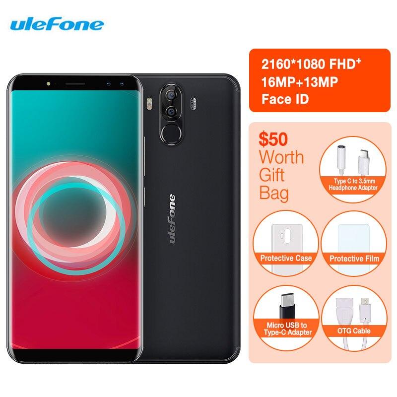Ulefone Puissance 3 S Smartphone Du Visage ID 6.0