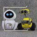 Новый Стиль 17 см Wall-E Валле EVE Робот Чучела плюшевые игрушки брелок брелок кулон Подарок на Рождество