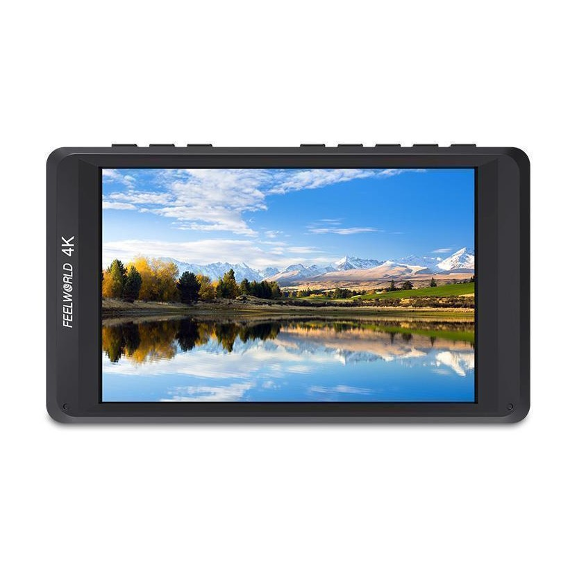 Feelworld FW450 4.5 Camera Monitor 4K HDMI Input/Output Ultra-thin Desagn Full HD Camera Monitor for Shoot Better Video