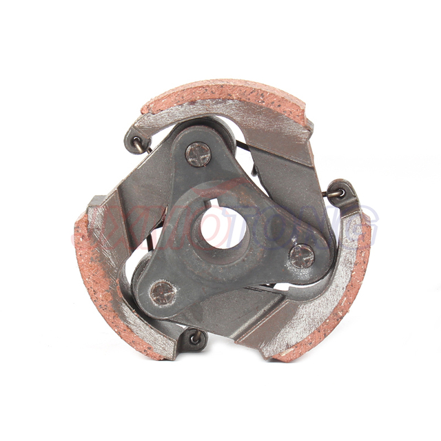 2 Stroke complete alloy clutch pads springs for 47cc 49cc gas minimoto pocket bike mini dirt bike crosser quad atv motorcycle