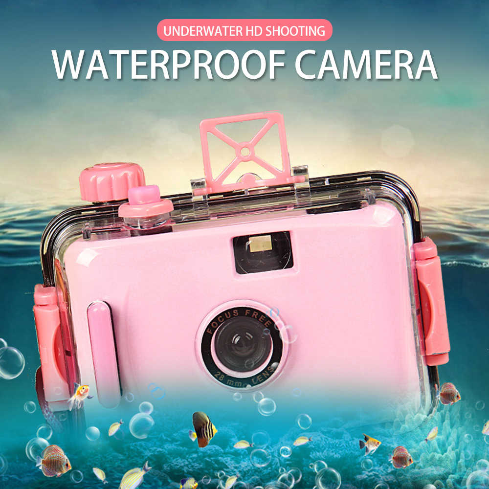 2019 Children's Camera Non-disposable Camera cute Film Camera LOMO Waterproof and Shockproof Kid Camera (no Battery Required)