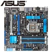 ASUS P8P67-M PRO  original motherboard  DDR3 LGA 1155 USB2.0 USB3.0 for I3 I5 I7 32GB P67 Desktop Motherboard
