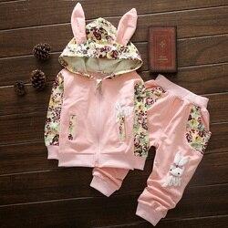 Nette Baby Mädchen Kleidung Sets Für Kinder Hohe Qulity 2018 Herbst Langarm Druck Kleinkind Mädchen Baby Anzug für Kind 1 2 3 4 jahre